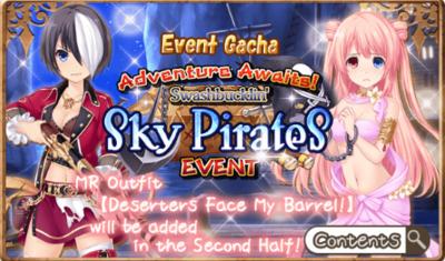 Sky Pirates Event Gacha B