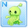Shoulder Squid Green