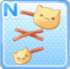 Cat Hairpins Yellow