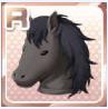 Classic Horse Head Black
