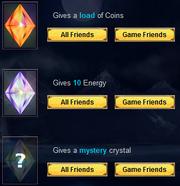 Facebook Crystals