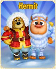 Hermit update logo
