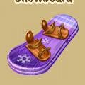 Coll wintersport snowboard