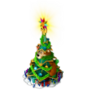 Bear - christmas tree deco
