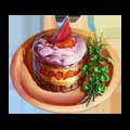 Exquisite pastry