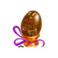 Chocolate egg easter bakery