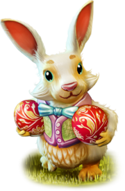 Illus easter bunny