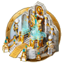 Dream icon throne room