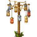 Lamp tree deco