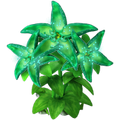 Res emerald flower 3