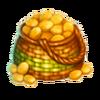 Basket of candied peels