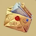 Coll grateful envelope