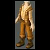 Clothesm archaeologists suit