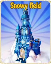 Snowy field update logo