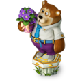 Bear with violets deco.png