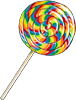 Coll candy lollipop