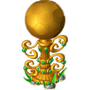 Golden ball deco