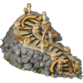 Forgotten kingdom ladder to castle stage3