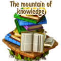 The mountain of knowledge deco