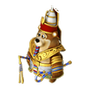 Bear pharaoh deco