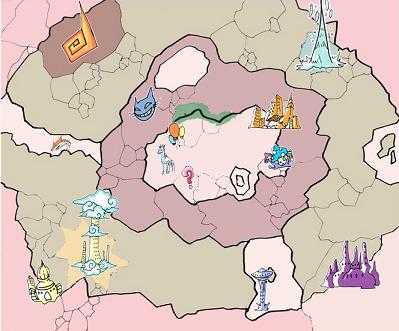 Dreamland map