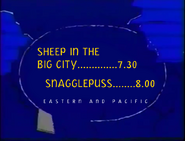 UToons TV next bumper - Sheep in the Big City to Snagglepuss