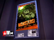 Utn ident - monsters poster (2013)