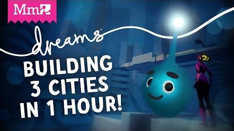 Dreams PS4 – Building 3 Cities in 1 Hour! - Media Molecule Live Stream