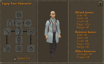 3rd Age Mage Robe Top Stats