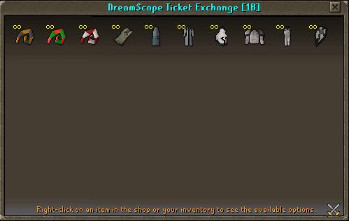 Dreamscape Ticket Exchange