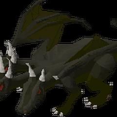 Mini King Black Dragon