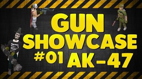 Dreamscape RSPS NEW SERIES! Gun Showcase 01 AK-47