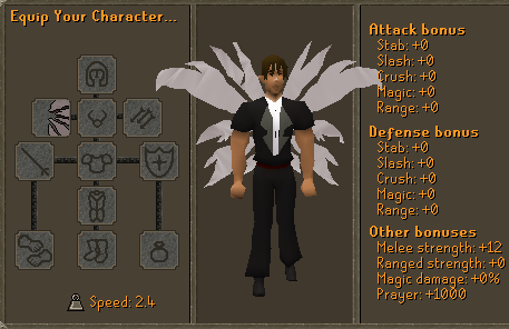 White Glass Wings Stats