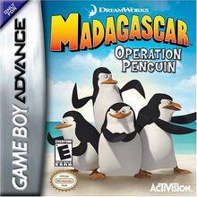 Madagascar Operation Penguin for Nintendo Gameboy Advance