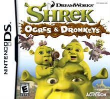 Shrek Ogres & Donkeys for Nintendo DS