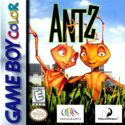 File:Antz for Nintendo Gameboy Colour.JPG