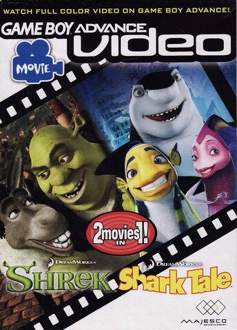 File:GBA Video Shrek & Shark Tale for Nintendo Gameboy Advance.jpeg
