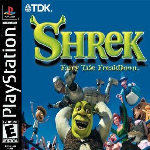 File:Shrek Fairytale Freakdown for Sony PlayStation One.JPG