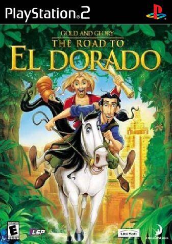 File:Road To El Dorado for Sony PlayStation 2.jpg