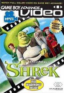 GBA Video Shrek for Nintendo Gameboy Advance