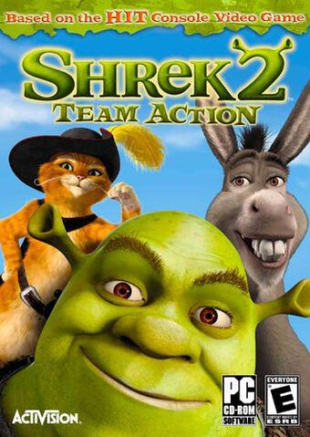 File:Shrek 2 Team Action for PC.jpeg