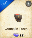 Gronckle Torch