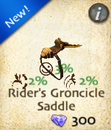 Rider's Groncicle Saddle