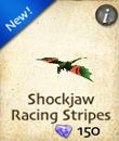 Shockjaw Racing Stripes