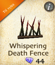 Whispering Death Fence
