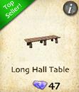 Long Hall Table