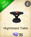 Nightmare Table