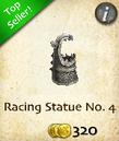 Racing Statue No. 4