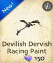 Devilish Dervish Racing Paint