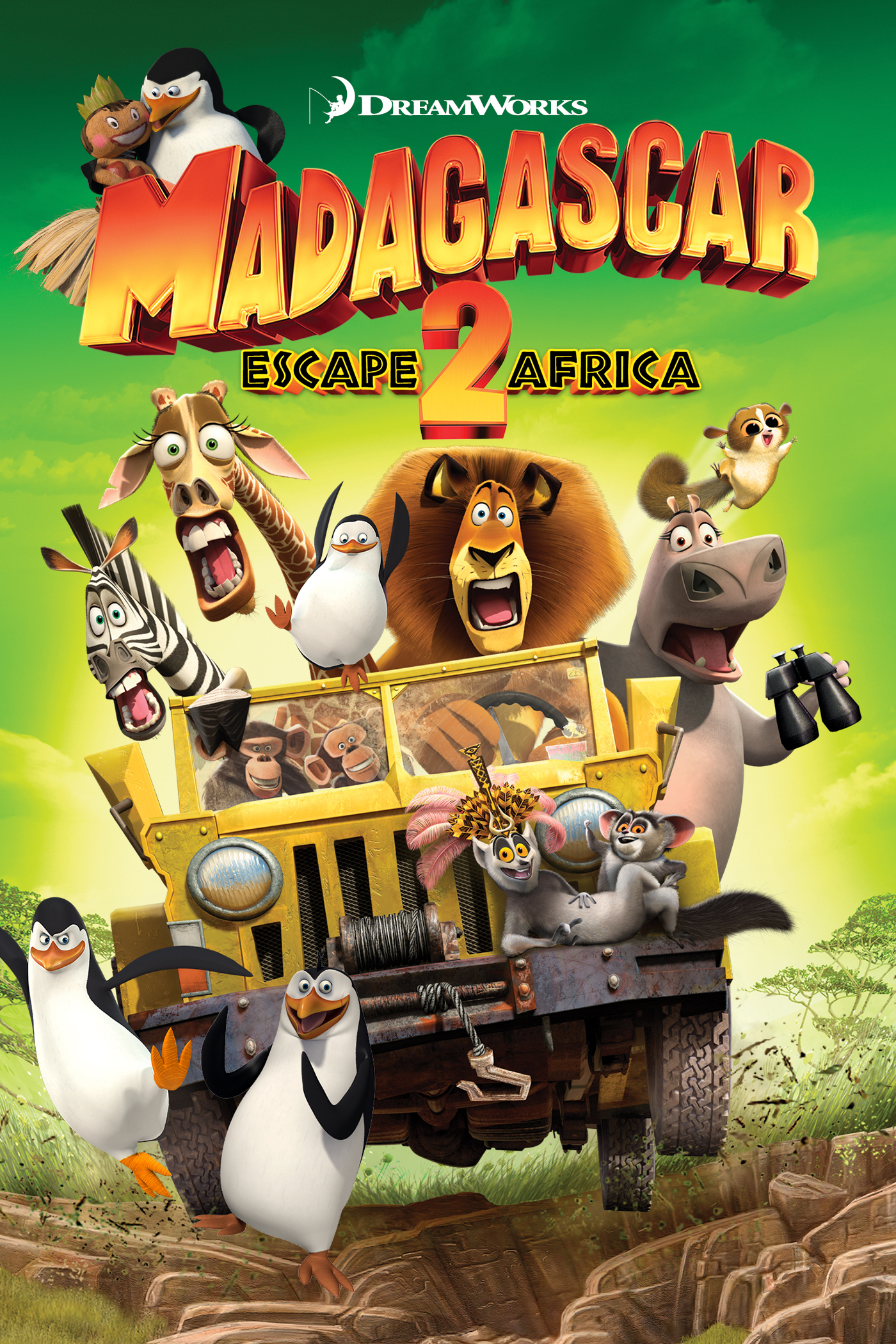 madagascar escape 2 africa home video dreamworks